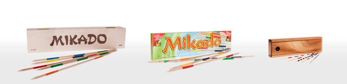Pick-up sticks - Mikado