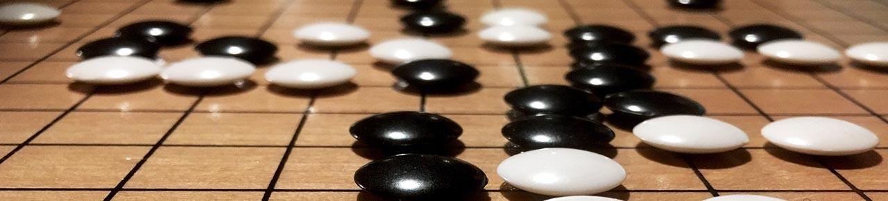 Mahjong und Go Spiele