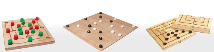 Mühle-Spiele