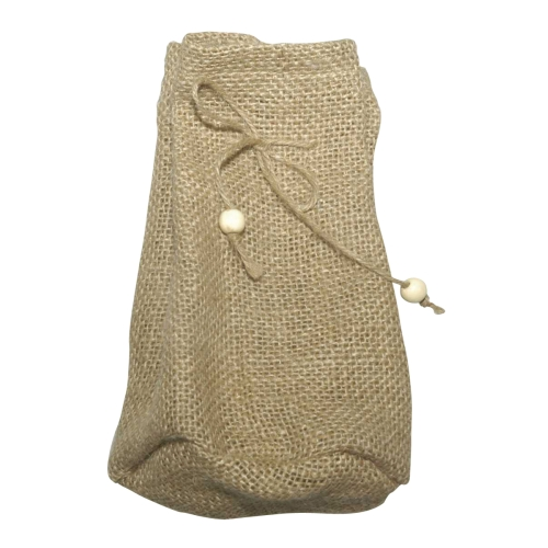 stoffbeutel aus jute mit boden gro ca 17 x 10 cm beige kaufen bei. Black Bedroom Furniture Sets. Home Design Ideas