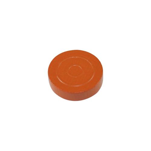21x7mm Backgammonstein orange Mühle Damestein