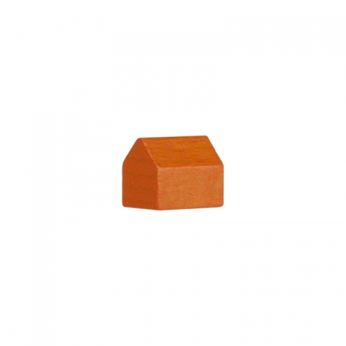 monopoly haus 14x10x12mm orange kaufen bei. Black Bedroom Furniture Sets. Home Design Ideas