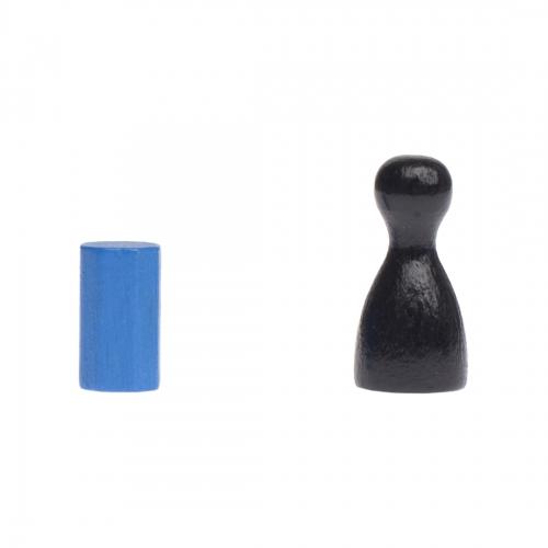 blau Achteckstein Ocean 10x10mm