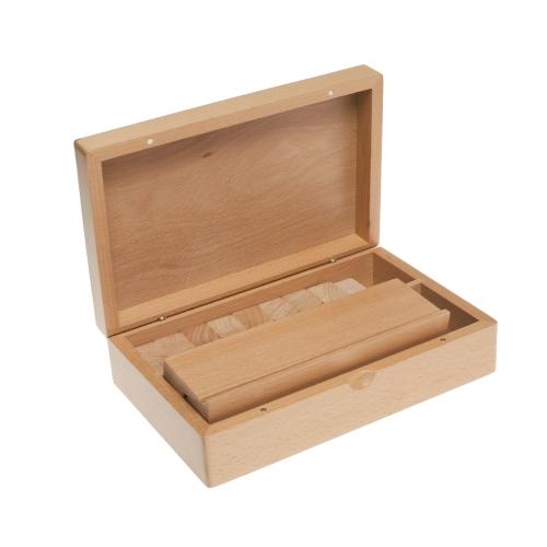 Rummy holzkassette komplett aus buche klein ebay for Kleine wohnwand buche