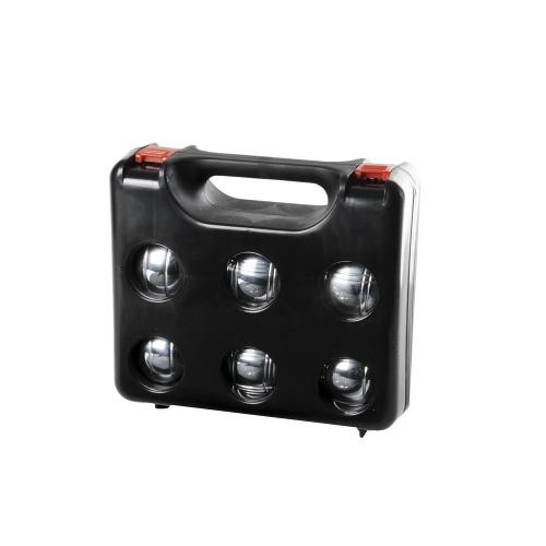 boule boccia petanque stahl 6 kugeln im koffer kaufen bei. Black Bedroom Furniture Sets. Home Design Ideas