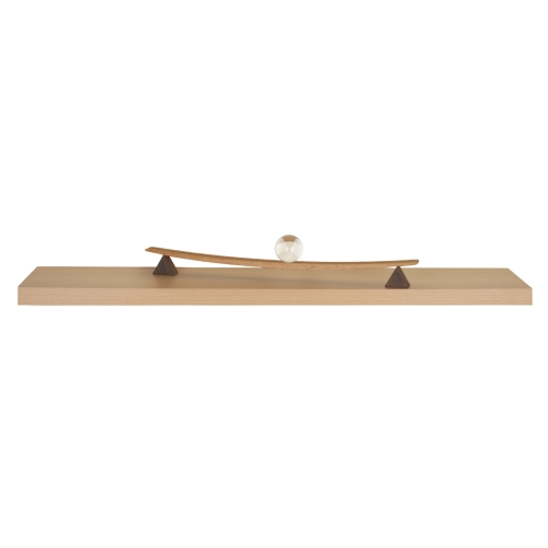 wandboard schwebend buche matt ca 90 cm ebay. Black Bedroom Furniture Sets. Home Design Ideas