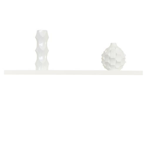 wandboard schwebend weiss hochglanz ca 90 cm kaufen bei. Black Bedroom Furniture Sets. Home Design Ideas
