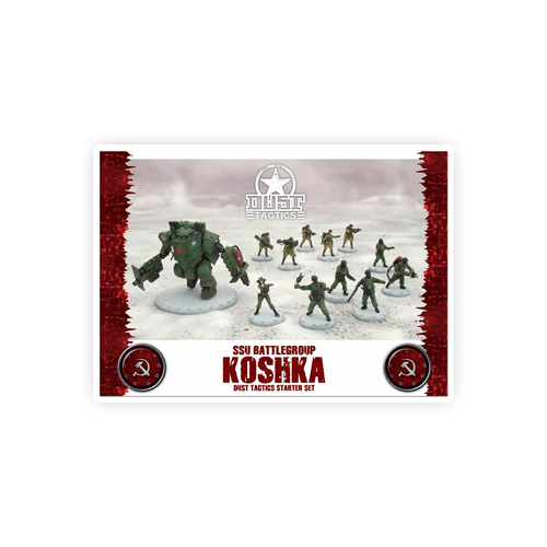 dust tactics ssu battlegroup koshka starter set. Black Bedroom Furniture Sets. Home Design Ideas