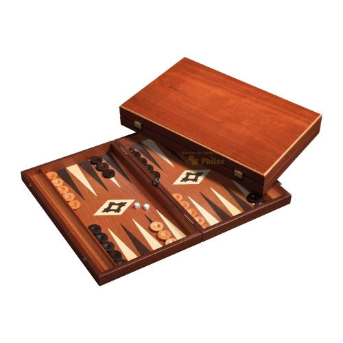 backgammon kassette odysseas holz gro ebay. Black Bedroom Furniture Sets. Home Design Ideas