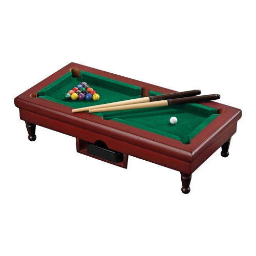 mini pool billiard tischspiel mit 16 billardkugeln und 2 queues kaufen bei. Black Bedroom Furniture Sets. Home Design Ideas