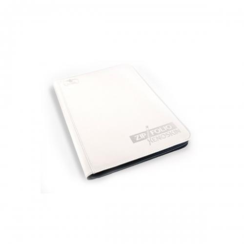 Ultimate Guard 9-Pocket Zipfolio Xenoskin Weiß