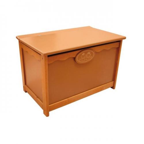 Toy storage box trunk brown