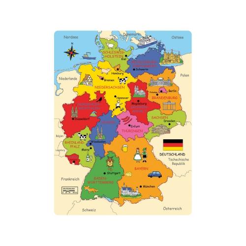 Bundesland Deutschland Karte