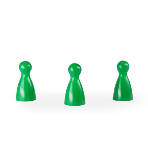 Halmakegel - pöppel - grün