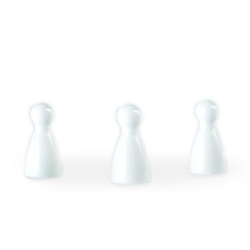 Halmakegel - pöppel - weiß
