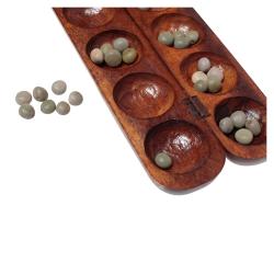 Afrikanisches Spiel Bao