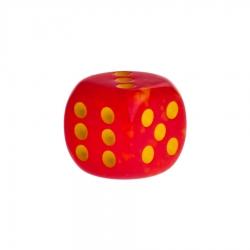 Dice - Las Vegas - red - plastic - 16 mm - connexxion24.com b36487e66ac89