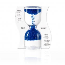 Halmakegel.com Sanduhr TEA timer - blau - 5 Minuten