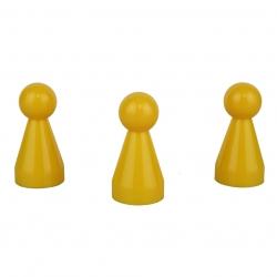 Halmakegel.com Halmakegel - Pöppel - gelb - KS - 20 x 40 mm 241475