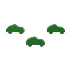 Halmakegel.com Sportwagen - Auto - 25x11x8mm - grün 256022