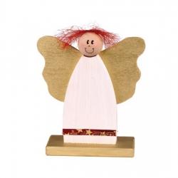 Bethel proWerk Witzige Engel - Junge - Weihnachtsdekoration - 22 x 18 x 7 cm 258523