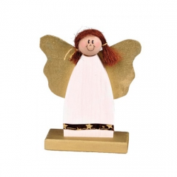 Bethel proWerk Witzige Engel - Mädchen - Weihnachtsdekoration - 22 x 18 x 7 cm 258524