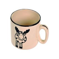 Bethel proWerk Tasse - Elch-Serie - Tasse - handbemalte Keramik - spülmaschinenfest 258623