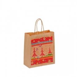 Bethel proWerk Papiertasche Weihnachten - klein - umweltfreundlich - 18 x 21 cm 258648