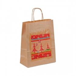 Bethel proWerk Papiertasche Weihnachten - groß - umweltfreundlich - 24 x 32 cm 258649