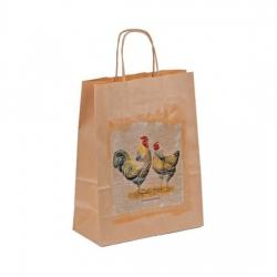 Bethel proWerk Papiertasche Huhn - groß - umweltfreundlich - 24 x 32 cm 258647