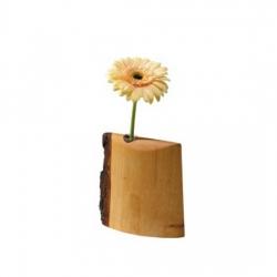 Bethel proWerk Blumenvase - Holz - groß - 16 x 14 cm
