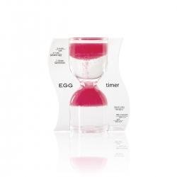 Halmakegel.com Sanduhr EGG timer - Eieruhr - rosa - 10 Minuten 259114