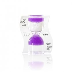 Halmakegel.com Sanduhr EGG timer - Eieruhr - lila - 10 Minuten 259115