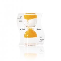 Halmakegel.com Sanduhr EGG timer - Eieruhr - orange - 10 Minuten 259113