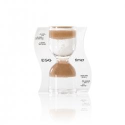 Halmakegel.com Sanduhr EGG timer - Eieruhr - braun - 10 Minuten 259111
