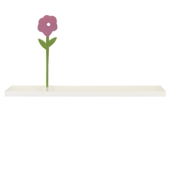 wandboard schwebend weiss hochglanz ca 90 cm b cherregal kaufen bei. Black Bedroom Furniture Sets. Home Design Ideas