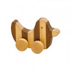 streifentier holzfigur ente 8 cm. Black Bedroom Furniture Sets. Home Design Ideas