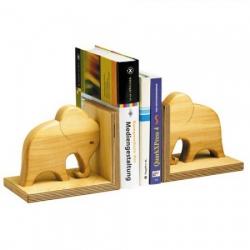 b cherst tze aus ge ltem massivholz elefant. Black Bedroom Furniture Sets. Home Design Ideas