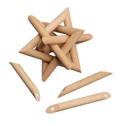 Polylink Cuboctahedron - 12 magnetic puzzle pieces 1
