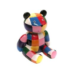 Plastoy SAS Elmer der Elefant - Figur Teddybär 267496