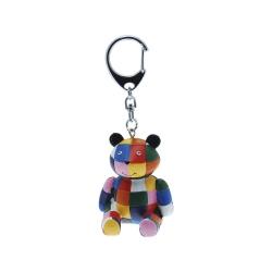 Plastoy SAS Elmer der Elefant - Teddybär - Schlüsselanhänger 267497