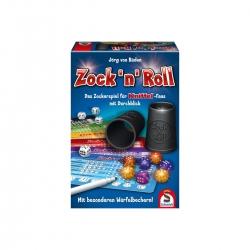 Schmidt Spiele Zock n Roll - Das Zockerspiel für Kniffel-Fans mit Durchblick 268021