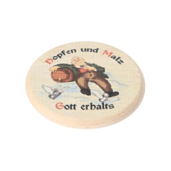 Bartl Bierdeckel farbig Hopfen und Malz 270329