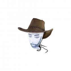 holzspielerei Cowboy-Hut braun 279631