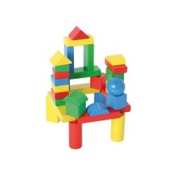 Bartl Bauklötze - Baby Blocs - 30 extra große Holzbausteine - ab 1 Jahr 243876