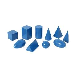 geometrische k rper gro blau. Black Bedroom Furniture Sets. Home Design Ideas