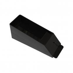 kartenschlitten aus acrylglas schwarz bis zu 6 decks. Black Bedroom Furniture Sets. Home Design Ideas