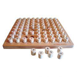 intellego holzspiele SUDOKU - das Holzbrettspiel