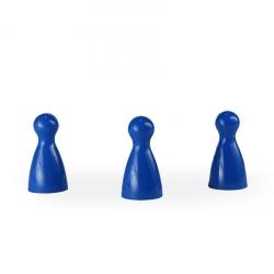 Halmakegel - pöppel - blau