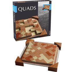 Quads magnetic - Puzzle mit moderner Kunst